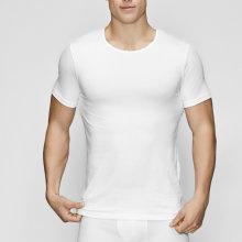 JBS of Denmark Herre - Øko Bomuld T-shirt O-Neck Hvid