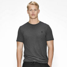 JBS of Denmark Herre - Bambus T-shirt Pique Mørk Grå