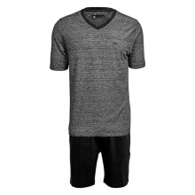 JBS Herre - Bomuld Pyjamas T-shirt/shorts Grå