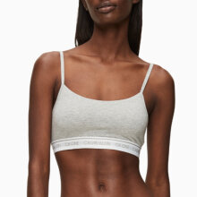 Calvin Klein - Launch Bralette Top Grey Heather