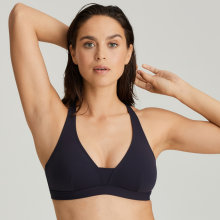 Primadonna - Holiday Triangle Top Midnight Blue