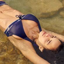 Marie Jo - Angeline Trekants Bikini Water Blue