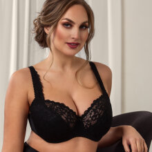 Plaisir - Sofia Push Up BH Sort